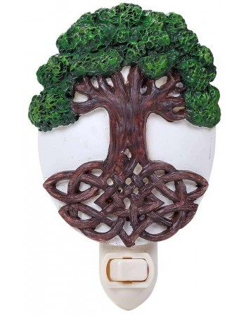 Tree of Life Night Light Mythic Decor  Dragon Statues, Angels & Demons, Myths & Legends |Statues & Home Decor