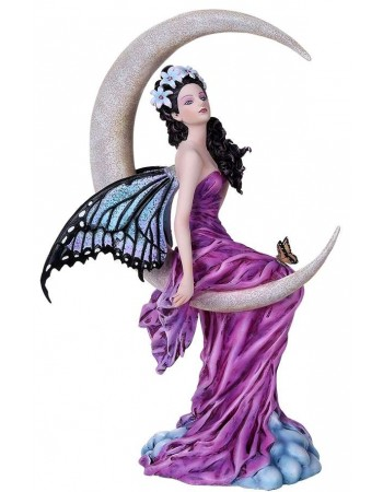 Amethyst Moon Fairy Statue Mythic Decor  Dragon Statues, Angels, Myths & Legend Statues & Home Decor