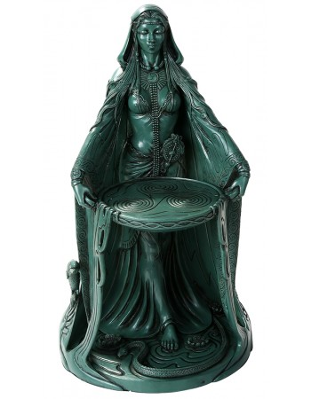 Danu Celtic Goddess Resin 16 Inch Statue Mythic Decor  Dragon Statues, Angels, Myths & Legend Statues & Home Decor