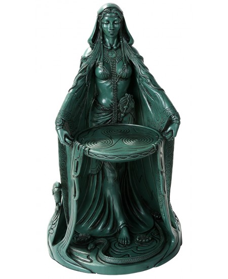 Danu Celtic Goddess Resin 16 Inch Statue at Mythic Decor,  Dragon Statues, Angels, Myths & Legend Statues & Home Decor