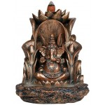 Ganesha Backflow Incense Burner at Mythic Decor,  Dragon Statues, Angels, Myths & Legend Statues & Home Decor