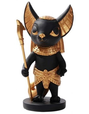 Anubis Little Egyptian Statue Mythic Decor  Dragon Statues, Angels, Myths & Legend Statues & Home Decor