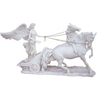 Nike, Greek Goddess of Victory on Chariot Statue