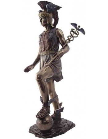 Hermes, Messenger of the Gods Bronze Statue