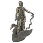 Apollo Greek God of Light on Swan Bronze Statue at Mythic Decor,  Dragon Statues, Angels, Myths & Legend Statues & Home Decor