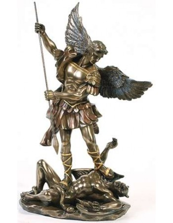 Archangel St Michael 10 Inch Statue Mythic Decor  Dragon Statues, Angels & Demons, Myths & Legends |Statues & Home Decor