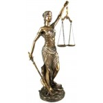 La Justica 12 Inch Lady Justice Statue in Bronze Resin at Mythic Decor,  Dragon Statues, Angels, Myths & Legend Statues & Home Decor
