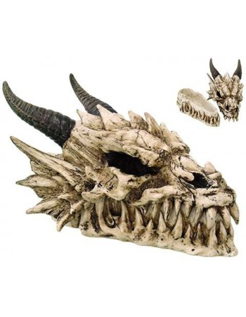 Dragon Skull Box Mythic Decor  Dragon Statues, Angels & Demons, Myths & Legends |Statues & Home Decor