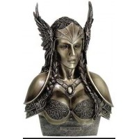Valkyrie Norse Warrior Woman Statue by Monte Moore