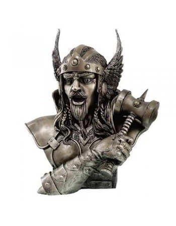 Thor, God of Thunder Norse Statue Mythic Decor  Dragon Statues, Angels & Demons, Myths & Legends |Statues & Home Decor
