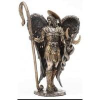 Archangel Raphael Healing Bronze Resin Statue