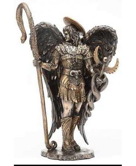 Archangel Raphael Healing Bronze Resin Statue at Mythic Decor,  Dragon Statues, Angels, Myths & Legend Statues & Home Decor