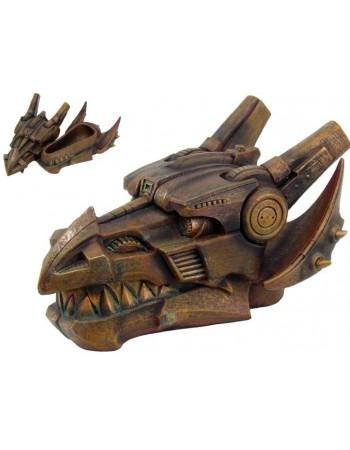 Steampunk Dragon Head Trinket Box Mythic Decor  Dragon Statues, Angels, Myths & Legend Statues & Home Decor