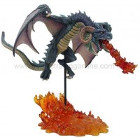 Line of Fire Dragon Statue by Tom Wood