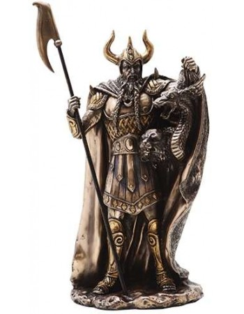 Loki Norse God Statue Mythic Decor  Dragon Statues, Angels, Myths & Legend Statues & Home Decor