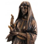 Hestia Greek Goddess of the Hearth and Home Statue at Mythic Decor,  Dragon Statues, Angels, Myths & Legend Statues & Home Decor