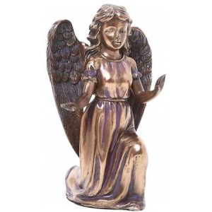 Adoring Angel Bronze Resin Statue Mythic Decor  Dragon Statues, Angels & Demons, Myths & Legends |Statues & Home Decor
