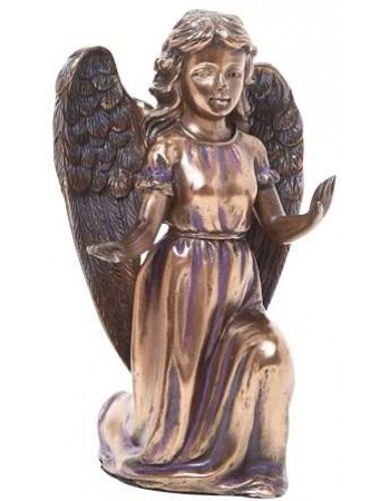 Adoring Angel Bronze Resin Statue Mythic Decor  Dragon Statues, Angels, Myths & Legend Statues & Home Decor