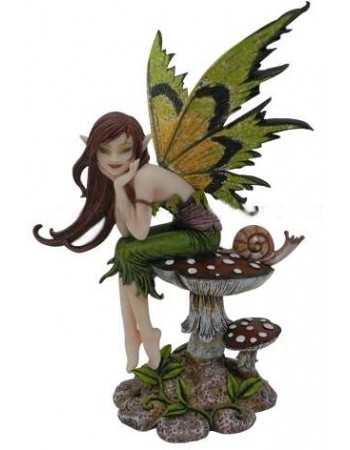 Thinking of You Fairy by Amy Brown Mythic Decor  Dragon Statues, Angels & Demons, Myths & Legends |Statues & Home Decor