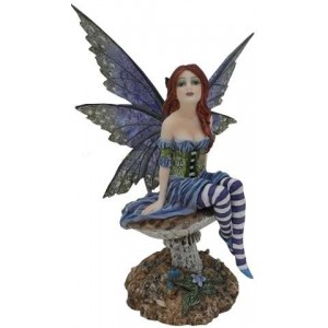 Bottom of the Garden Fairy by Amy Brown Mythic Decor  Dragon Statues, Angels & Demons, Myths & Legends |Statues & Home Decor