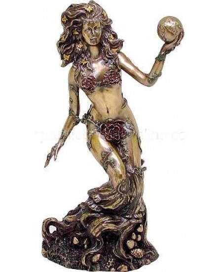 Gaia, Mother Earth Bronze Statue at Mythic Decor,  Dragon Statues, Angels, Myths & Legend Statues & Home Decor