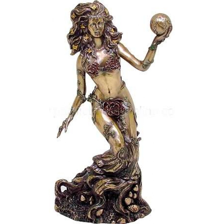 Gaia Greek Mythology Statue Mother Earth Wicca Greek