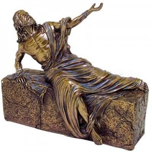 Jesus, He is Risen Bronze Christian Statue Mythic Decor  Dragon Statues, Angels & Demons, Myths & Legends |Statues & Home Decor