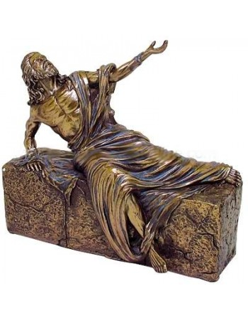 Jesus, He is Risen Bronze Christian Statue