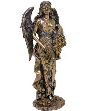 Lady Fortuna Greek Goddess Bronze Statue Mythic Decor  Dragon Statues, Angels, Myths & Legend Statues & Home Decor