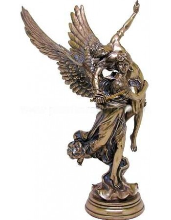 Pheme, Winged Fame Greek Goddess Bronze Statue Mythic Decor  Dragon Statues, Angels, Myths & Legend Statues & Home Decor
