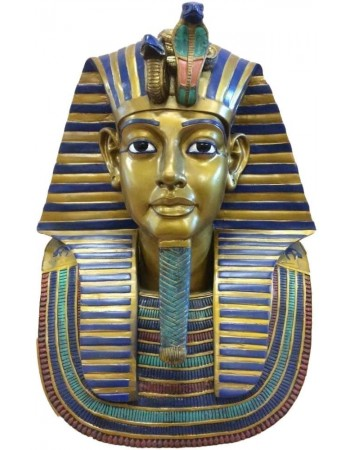 King Tut Bust 19 Inch Egyptian Pharaoh Statue Mythic Decor  Dragon Statues, Angels, Myths & Legend Statues & Home Decor