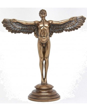 Rising Day Angel Bronze Statue Mythic Decor  Dragon Statues, Angels, Myths & Legend Statues & Home Decor