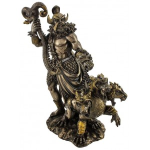 Hades Greek God of the Underworld Bronze Resin Statue Mythic Decor  Dragon Statues, Angels & Demons, Myths & Legends |Statues & Home Decor