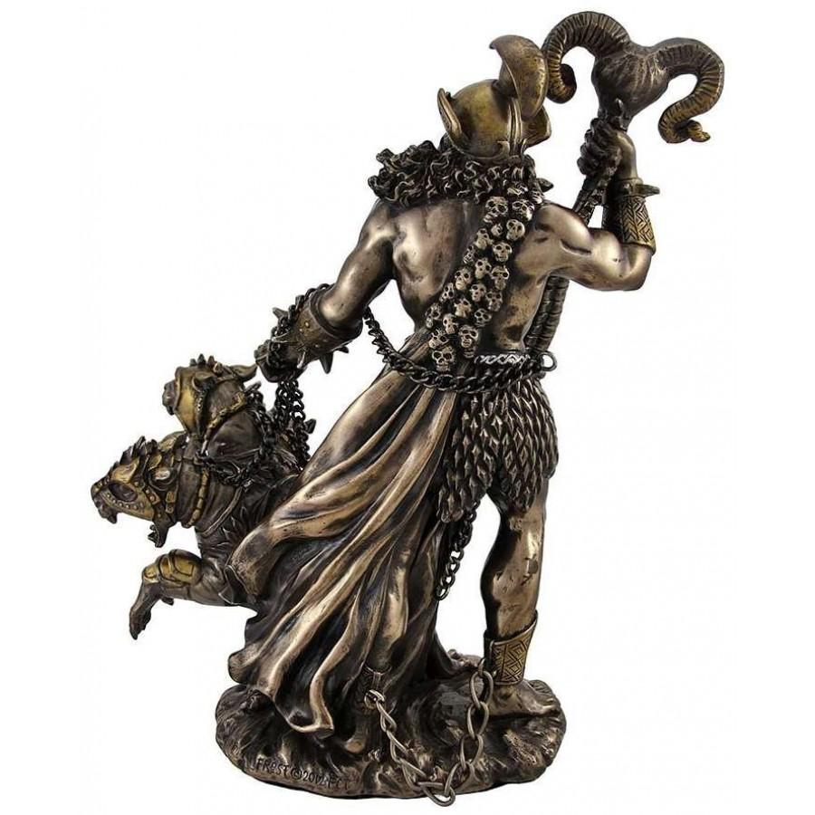 Hades Greek God Of The Underworld With Cerberus 3 Headed
