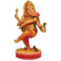 Dancing Ganesha Hindu God Statue