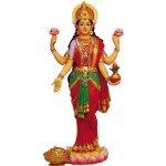 Lakshmi Hindu Goddess of Luck and Wealth Full Color Statue at Mythic Decor,  Dragon Statues, Angels, Myths & Legend Statues & Home Decor