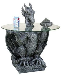 Furniture & Large Decor Mythic Decor  Dragon Statues, Angels & Demons, Myths & Legends |Statues & Home Decor
