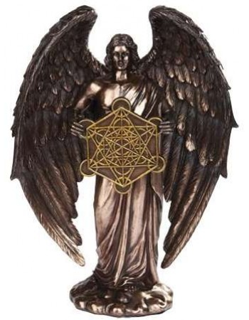 Metatron Archangel Bronze Finish Statue Mythic Decor  Dragon Statues, Angels, Myths & Legend Statues & Home Decor