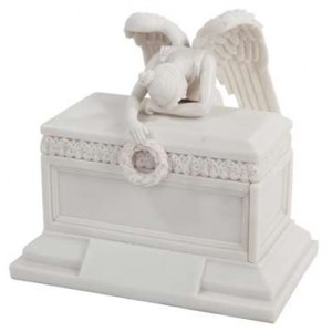 Angel of Bereavement Memorial Keepsake Urn Mythic Decor  Dragon Statues, Angels & Demons, Myths & Legends |Statues & Home Decor