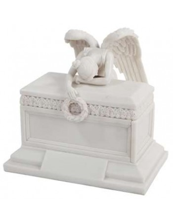 Angel of Bereavement Memorial Keepsake Urn Mythic Decor  Dragon Statues, Angels, Myths & Legend Statues & Home Decor