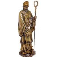 Saint Patrick Bronze Christian Statue