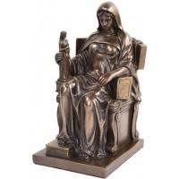 Contemplation of Law Bronze Statue