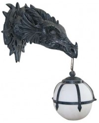 Lighting, Lamps, and Sconces Mythic Decor  Dragon Statues, Angels & Demons, Myths & Legends |Statues & Home Decor
