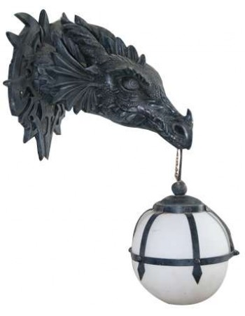 Marshgate Castle Dragon Wall Sconce Mythic Decor  Dragon Statues, Angels, Myths & Legend Statues & Home Decor