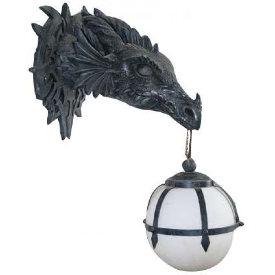 Marshgate Castle Dragon Wall Sconce Gothic Home Decor