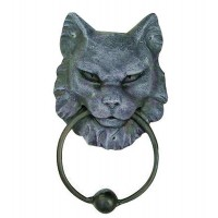 Gargoyle Cat Door Knocker