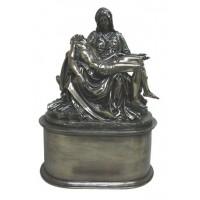 Pieta by Michelangelo Bronze Memorial Urn