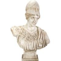 Athena Minerva Goddess Bust Statue