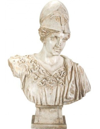 Athena Minerva Goddess Bust Statue Mythic Decor  Dragon Statues, Angels, Myths & Legend Statues & Home Decor