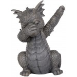 Dabbing Dragon Garden Statue at Mythic Decor,  Dragon Statues, Angels & Demons, Myths & Legends |Statues & Home Decor